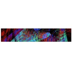 Native Blanket Abstract Digital Art Flano Scarf (Large)