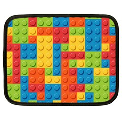 Lego Bricks Pattern Netbook Case (XL)