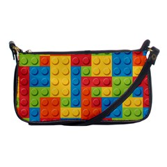 Lego Bricks Pattern Shoulder Clutch Bags