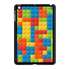 Lego Bricks Pattern Apple iPad Mini Case (Black)