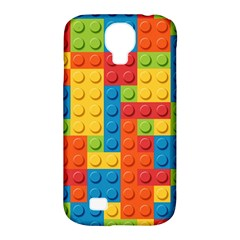 Lego Bricks Pattern Samsung Galaxy S4 Classic Hardshell Case (PC+Silicone)