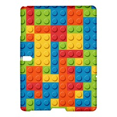 Lego Bricks Pattern Samsung Galaxy Tab S (10.5 ) Hardshell Case