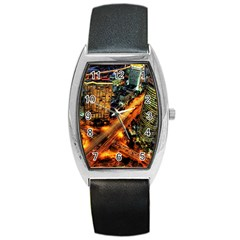 Hdri City Barrel Style Metal Watch