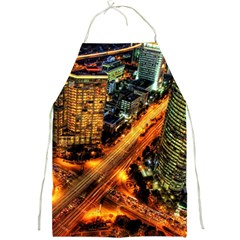Hdri City Full Print Aprons