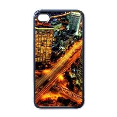 Hdri City Apple iPhone 4 Case (Black)