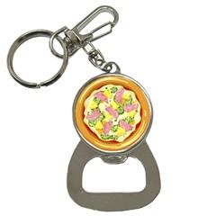 Pizza Clip Art Button Necklaces