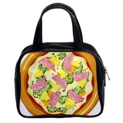 Pizza Clip Art Classic Handbags (2 Sides)