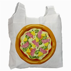 Pizza Clip Art Recycle Bag (One Side)