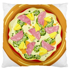Pizza Clip Art Large Cushion Case (One Side)