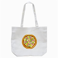Pizza Clip Art Tote Bag (White)