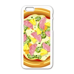 Pizza Clip Art Apple Iphone 6/6s White Enamel Case