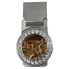 New York City At Night Future City Night Money Clips (cz)