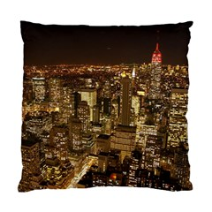 New York City At Night Future City Night Standard Cushion Case (Two Sides)