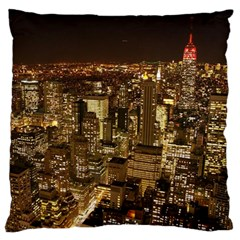 New York City At Night Future City Night Large Cushion Case (One Side)