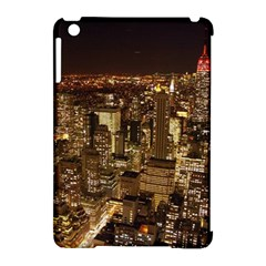 New York City At Night Future City Night Apple iPad Mini Hardshell Case (Compatible with Smart Cover)