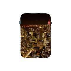 New York City At Night Future City Night Apple iPad Mini Protective Soft Cases