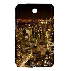 New York City At Night Future City Night Samsung Galaxy Tab 3 (7 ) P3200 Hardshell Case