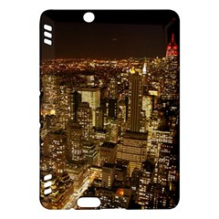 New York City At Night Future City Night Kindle Fire HDX Hardshell Case