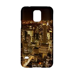 New York City At Night Future City Night Samsung Galaxy S5 Hardshell Case