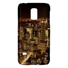 New York City At Night Future City Night Galaxy S5 Mini