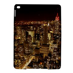 New York City At Night Future City Night iPad Air 2 Hardshell Cases