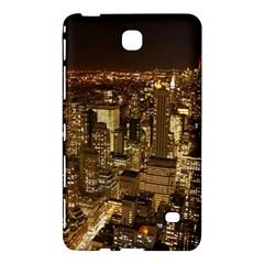 New York City At Night Future City Night Samsung Galaxy Tab 4 (8 ) Hardshell Case