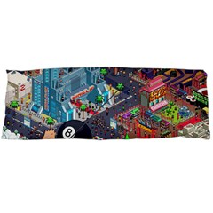 Pixel Art City Body Pillow Case Dakimakura (two Sides)