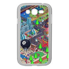 Pixel Art City Samsung Galaxy Grand Duos I9082 Case (white)