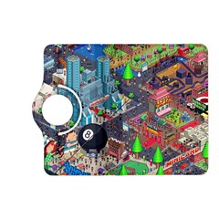 Pixel Art City Kindle Fire HD (2013) Flip 360 Case