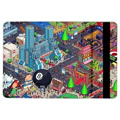 Pixel Art City iPad Air 2 Flip