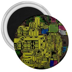 Technology Circuit Board 3  Magnets