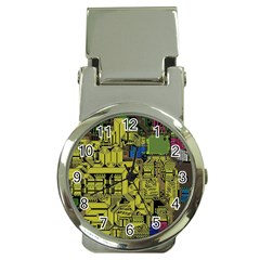 Technology Circuit Board Money Clip Watches