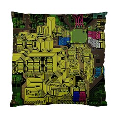 Technology Circuit Board Standard Cushion Case (two Sides)