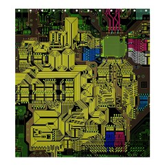 Technology Circuit Board Shower Curtain 66  X 72  (large)