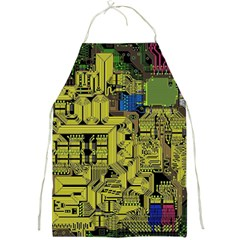 Technology Circuit Board Full Print Aprons