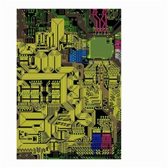 Technology Circuit Board Small Garden Flag (two Sides)