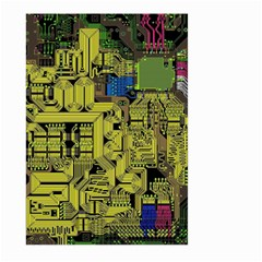 Technology Circuit Board Large Garden Flag (two Sides)