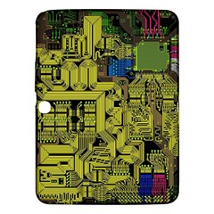 Technology Circuit Board Samsung Galaxy Tab 3 (10 1 ) P5200 Hardshell Case