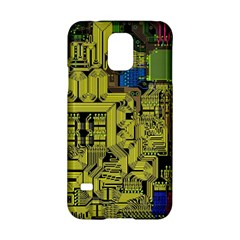 Technology Circuit Board Samsung Galaxy S5 Hardshell Case