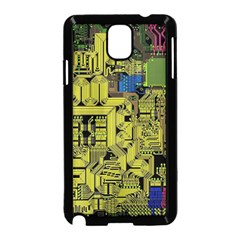 Technology Circuit Board Samsung Galaxy Note 3 Neo Hardshell Case (black)