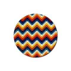 The Amazing Pattern Library Rubber Coaster (Round)