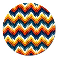 The Amazing Pattern Library Magnet 5  (round)