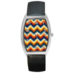 The Amazing Pattern Library Barrel Style Metal Watch