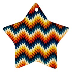 The Amazing Pattern Library Star Ornament (two Sides)