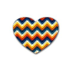 The Amazing Pattern Library Rubber Coaster (Heart)