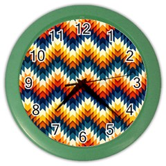 The Amazing Pattern Library Color Wall Clocks
