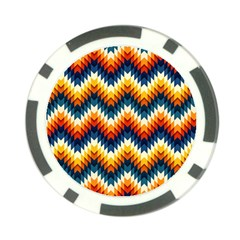 The Amazing Pattern Library Poker Chip Card Guard