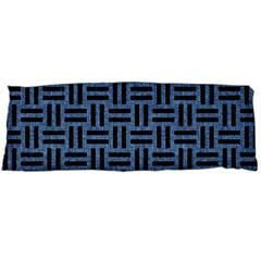 WOV1 BK-MRBL BL-LTHR (R) Body Pillow Case Dakimakura (Two Sides)