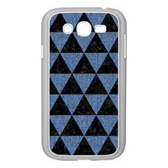 TRI3 BK-MRBL BL-LTHR Samsung Galaxy Grand DUOS I9082 Case (White)