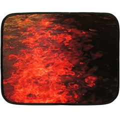 Reflections at Night Double Sided Fleece Blanket (Mini)